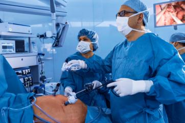腹腔镜上消化道手术